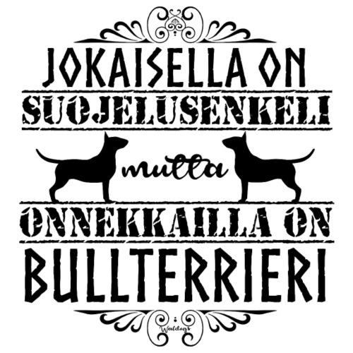 Bullterrieri Enkeli - Miesten premium t-paita