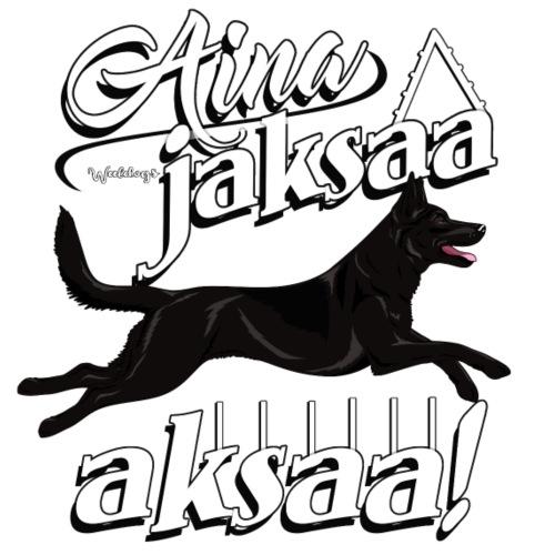 Australiankelpie Aksaa2 - Miesten premium t-paita
