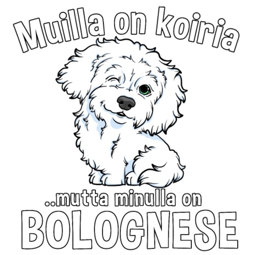 Bolognese Koiria - Miesten premium t-paita