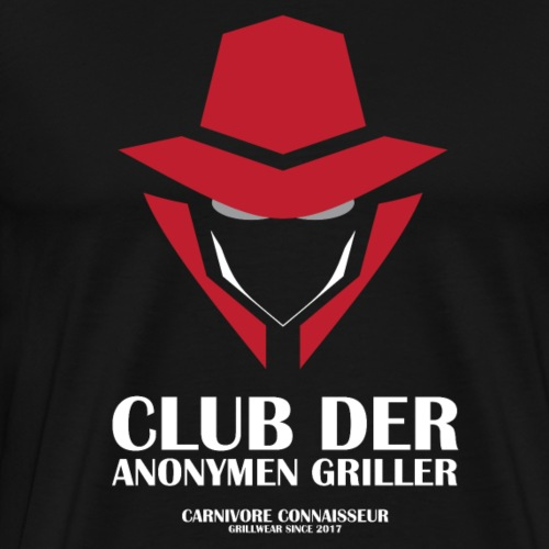 Club der anonymen Griller (Grillshirt) - Männer Premium T-Shirt