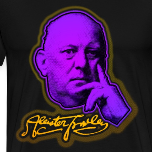 Aleister Crowley - Men's Premium T-Shirt