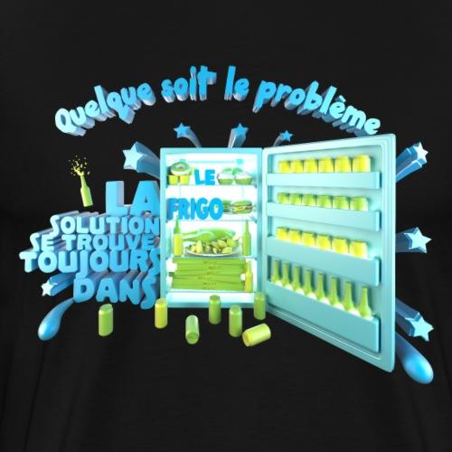 Dans le frigo - T-shirt Premium Homme