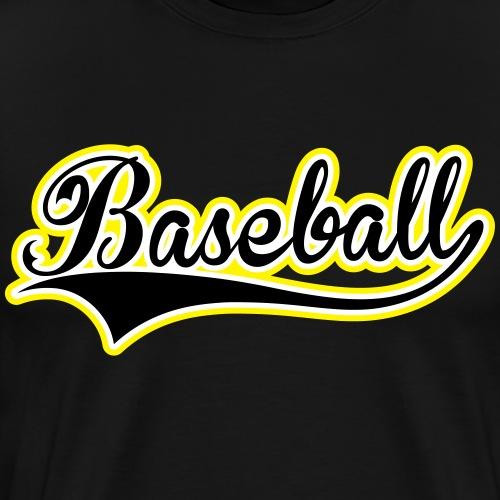 Baseball 3 Couleurs - Premium-T-shirt herr