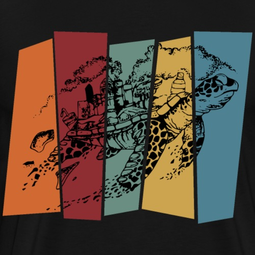 Schildkröte Klimawandel Future Meeresschildkröte - Männer Premium T-Shirt