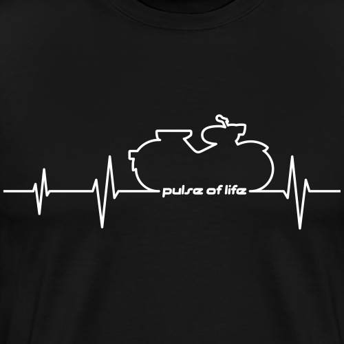 Simson Spatz EKG - Pulse of Life - Men's Premium T-Shirt
