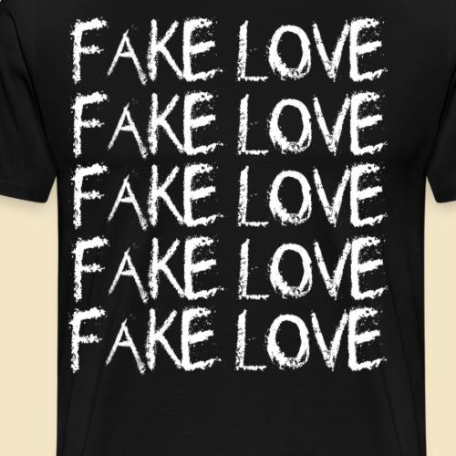Fake Love - Männer Premium T-Shirt