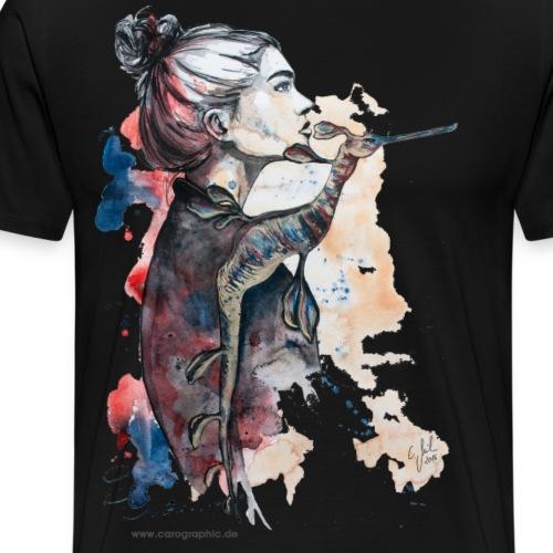seehorse seepferdchen by carographic - Männer Premium T-Shirt