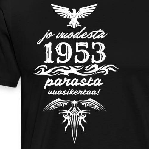 Parasta vuosikertaa, 1953 - Miesten premium t-paita