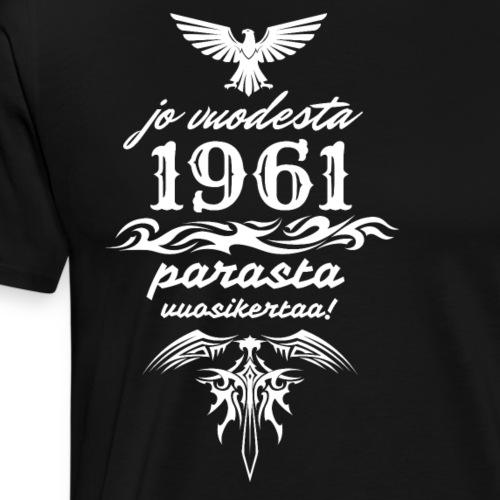 Parasta vuosikertaa, 1961 - Miesten premium t-paita