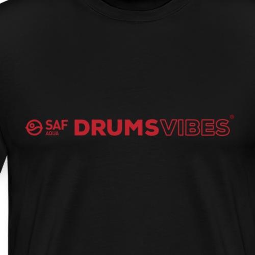 SAF AQUA Drums Vibes apparel - Men's Premium T-Shirt