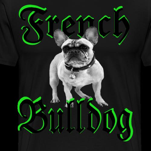 Bulldog Bulldogge Hundekopf Hundeliebhaber Hunde - Männer Premium T-Shirt