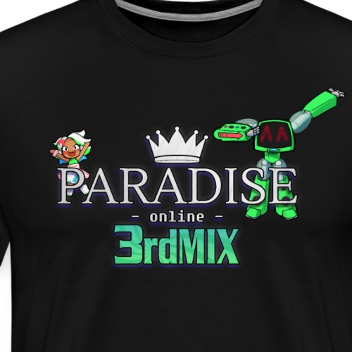 Paradise Online: 3rd Mix - Mannen Premium T-shirt