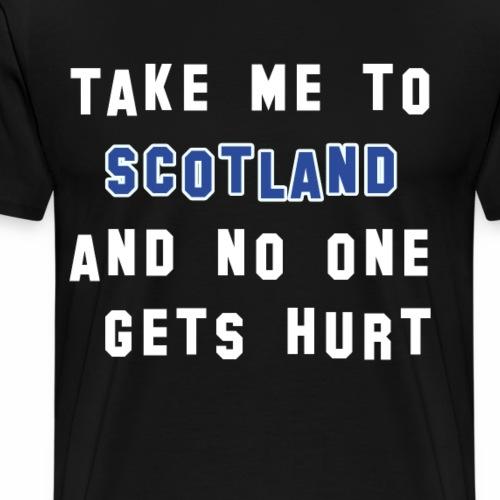 Take me to Scotland - Sehnsucht nach Schottland - Männer Premium T-Shirt