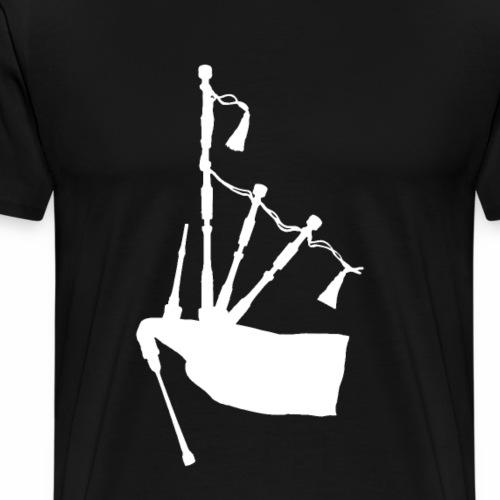 Dudelsack - Bagpipe - Männer Premium T-Shirt