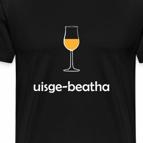 uisge-beatha - Water of Life - Whisky - Männer Premium T-Shirt