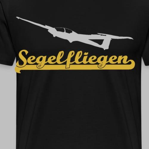 Segelfliegen Hobby Segelflugzeug Geschenk - Männer Premium T-Shirt