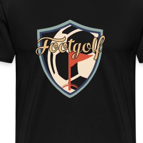 Footgolf Fussball Golf Soccer Fan Spieler Hobby - Männer Premium T-Shirt