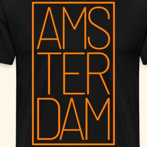 Amsterdam Niederlande Holland Reisende Geschenk - Männer Premium T-Shirt