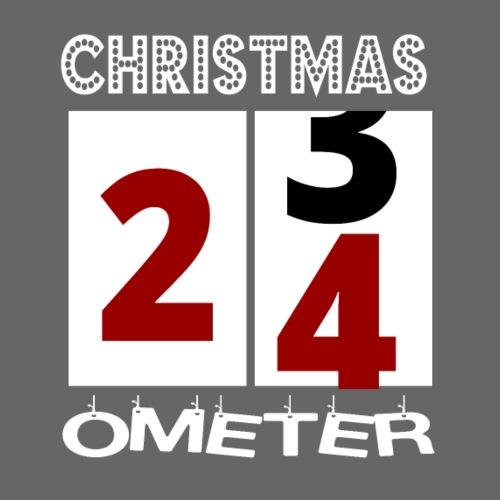Christmas Ometer Santa Claus Weihnachten Geschenk - Männer Premium T-Shirt