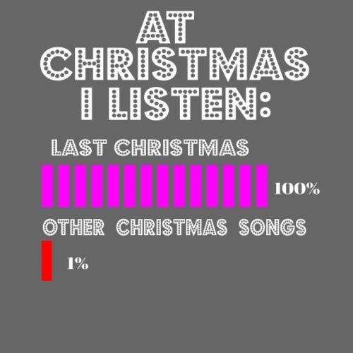 Christmas Song Weihnachten Last Christmas Geschenk - Männer Premium T-Shirt