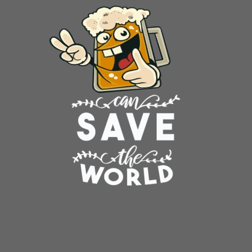 Beer can save the world Bier can save the world - Männer Premium T-Shirt