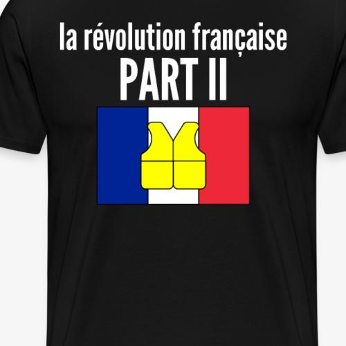 tu nous pompes - Gilet jaune Macron - Männer Premium T-Shirt