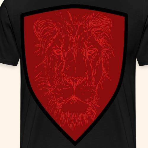Tier Kollektion Löwenkopf Rot Rot