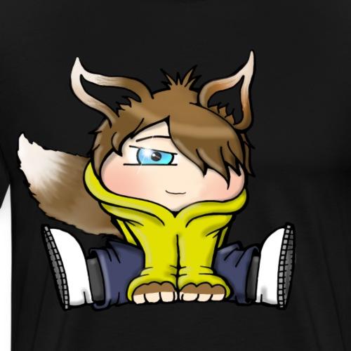 Little Fox/cat Draw nice funny - T-shirt Premium Homme