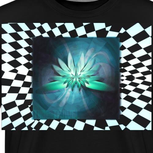 Lotus Unique travel by dimensions. - Men's Premium T-Shirt