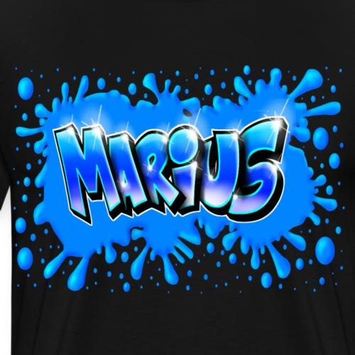 Graffiti Marius Splash - T-shirt Premium Homme