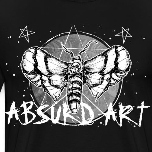 Lovesick Motte, von Absurd ART - Männer Premium T-Shirt