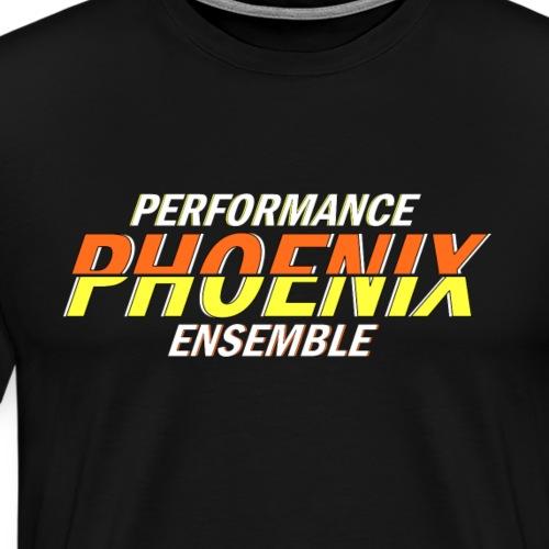 Phoenix Distorted Yellow - Männer Premium T-Shirt