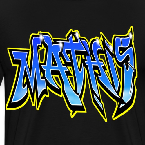 Graffiti Mathis - T-shirt Premium Homme