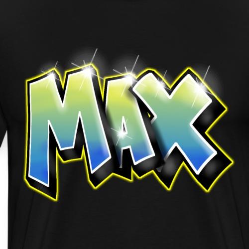 Graffiti Max - T-shirt Premium Homme