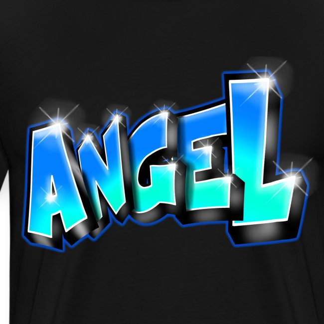Angel Graffiti name printable