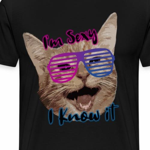 Cat Sex - Maglietta Premium da uomo