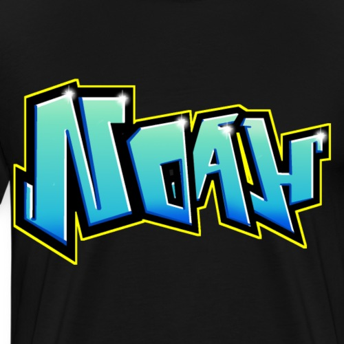 Graffiti NOAH printable - T-shirt Premium Homme