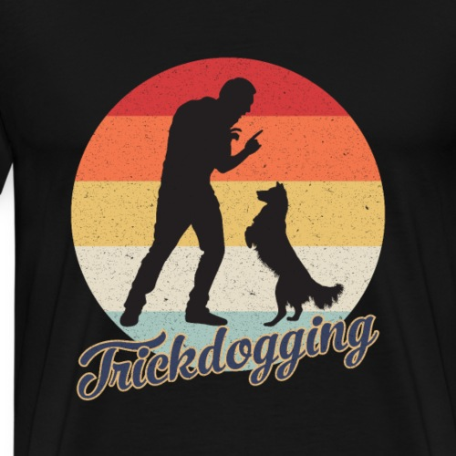 Trickdogging Hundetricks Hundetraing Hundespiele - Männer Premium T-Shirt