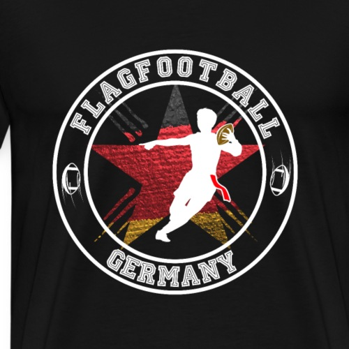 Flagfootball Germany Flag Football Deutschland - Männer Premium T-Shirt