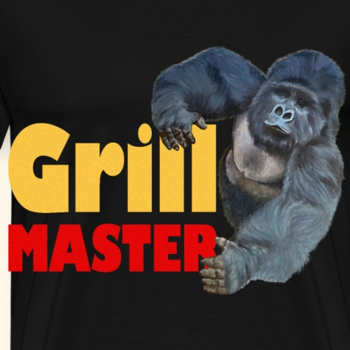 Starker Gorilla Grillmaster Grill Party Sommer Ges - Männer Premium T-Shirt