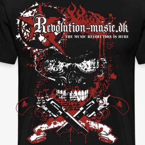 Blood & Guns - Herre premium T-shirt