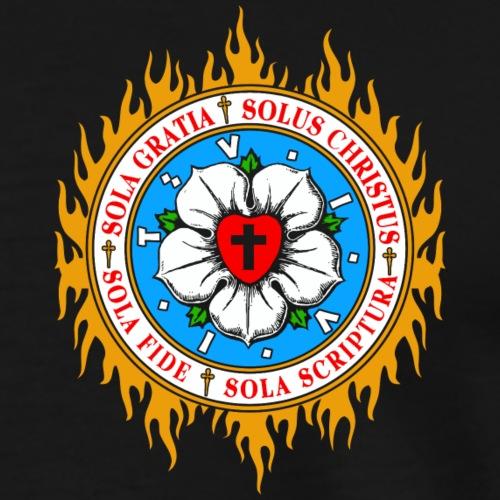 Brennen für die Ideen der Reformation - Männer Premium T-Shirt