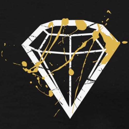 Blood Diamond_minimal design - Männer Premium T-Shirt