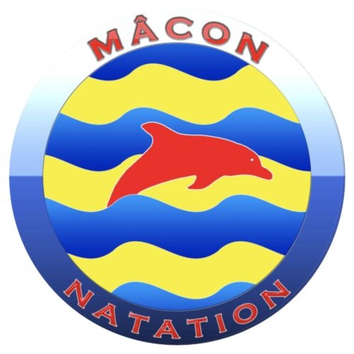 Logo Officiel Mâcon Natation
