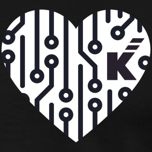 K Loves Tech - Camiseta premium hombre