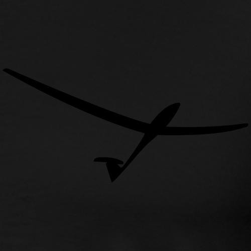 segelflugzeug schnell - Männer Premium T-Shirt