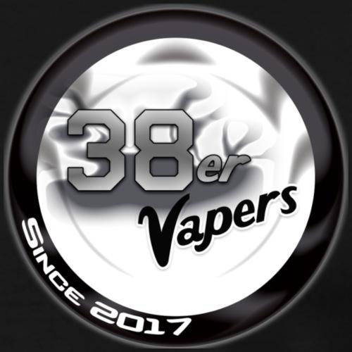 38er Vapers Schwarz - Männer Premium T-Shirt
