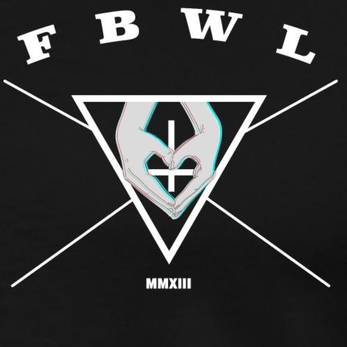 FBWL HERZHAND - Männer Premium T-Shirt