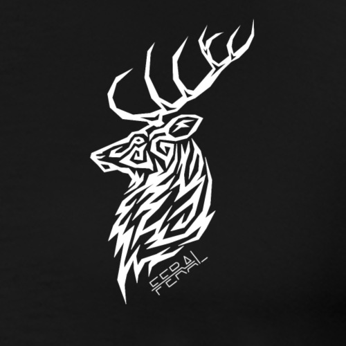 Tribal Deer - T-shirt Premium Homme