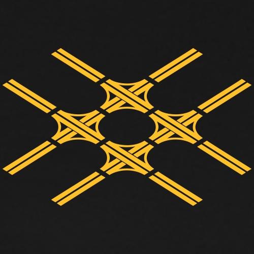 Autobahnkreuze Quartett - Männer Premium T-Shirt